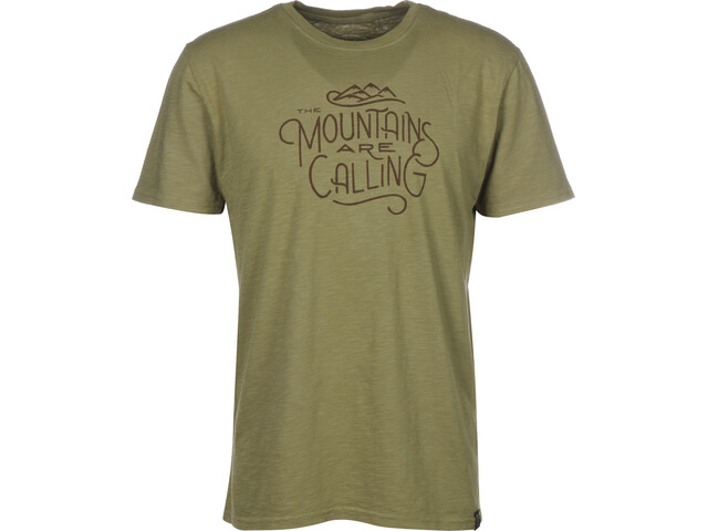 United By Blue And I must go Camiseta Hombre, olive